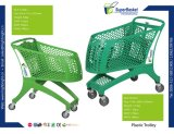 Plastic Shopping Trolley for Stores and Supermarkets