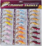 24PCS Assorted Soft Swimm Bait Spinner Fishing Lure Set