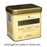 Rectangular Metal Gift Tea Tin Box with Cheaper Price