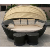 Rattan Sofa Bed Lounge with Ottoman (MTC-130)