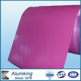Al99.6 Rose Red Color Painted Aluminum Coil for Curtain Walls