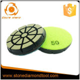 3 Inch Concrete Floor Diamond Tool Ceramic Polishing Pad