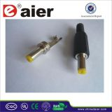 1.1*4.7mm Plasitc Male DC Plug