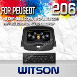 Witson Car DVD Player with GPS for Peugeot 206 (W2-C085)