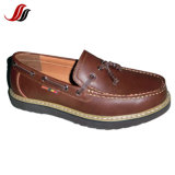 Hight Quality Men′s Casual Leather Shoes Loafer Shoes (ML0411-2)