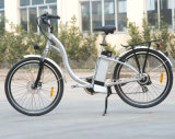 "26"" City Electric Bike with Aluminum Frame (TDE-001)"
