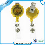 Concise Retractable Badge Reel with Alligator Clip