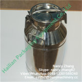 Fresh Milk Using Stainless Steel Transport Can with Sealing Ring