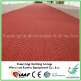 Iaaf Prefabricated Outdoor Rubber Matting Roll for Track, Court, Field