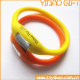 Customized Fashion Silicone Wristband Watch for Promotional (YB-WR-06)