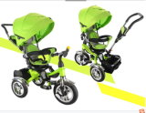 2016 Latest Steel High Quality 4 in 1 Canopy Baby Lexus Tricycle Trike