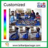 Household Cheap Kids Play Mat Drawstring Toy Storage Bag Organizer