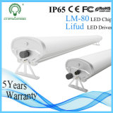 Waterproof Aluminum SMD2835 Tri-Proof LED Linear Light with Lifud Driver