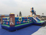 2016 Giant Commercial Inflatable Bouncer with Slide for Sale