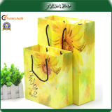 Fashion Custom Design Advertising Laminated Paper Gift Bag