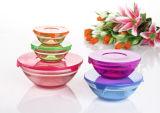 5PCS Color Sprayed Glass Bowl Set GB1401-5/P