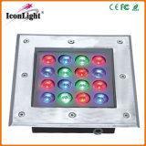 New 16*1W LED Underground Outdoor Garden Light IP66