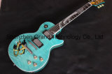 Lp Electric Guitar with Snake Inlay Fingerboard in Blue Color (GLP-524)