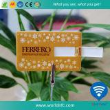 Hot Custom Credit Card USB Flash Drive PVC Card