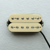 AlNiCo Nickel Silver Baseplate Ivory Humbucking Pickup with High Output