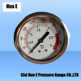 Stainless Steel Housing with Holder Type of Pressure Meter