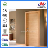 HDF/MDF Veneer Moulded Wooden Plywood Flush Door (JHK-F01)