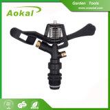 """Garden Tools Sprinkler Agricultural Irrigation Equipment 3/4"""" Male Plastic Sprinkler"""