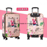 Bw1-084 Vintage ABS PC Suitcase Travel Luggage Bags Luggage Set