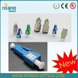 LC/Upc Singlemode Male-Female Fixed Fiber Optic 10dB Attenuator