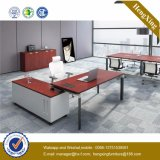 Manager Office Desk Glass Top Check-in Office Furniture (HX-NJ5034)