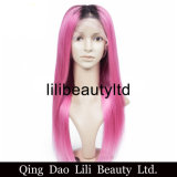 Top Selling Ombre Color Straight Full Lace Wig with Baby Hair