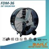 "36"" Industrial Heavy Duty, Multi-Purpose Drum Fan with Aluminum Blades"