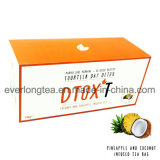 Customized Brand Dtox′t 14 Day Weight Loss Detox Tea Coconut & Pineapple Infusion