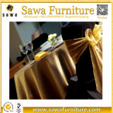 Manufacturer Wholesale Round Polyester Table Cloth for Wedding