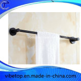 Stainless Steel Bathroom Black Towel Ring Towel Rack