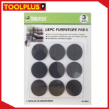 Black 30mm EVA Self-Adhesive Floor Protector Pad