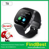 T8 Bluetooth Smart Watch with SIM Card Slot 0.3 MP Camera
