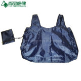 T-Shirt Shape Polyester Nylon Foldable shopping Bag in Zippered Pouch
