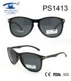 2017 Fashionable Polarized Black Sunglasses (PS1413)