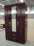 High Gloss MDF Wardrobe with Good Price