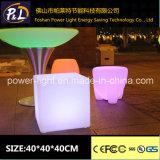 LED Lighting Magic Cube Chair Furniture for Garden