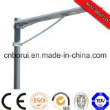 120W Solar Street Light All in One Integrated Model with 8m 9m 10m Light Pole