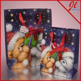 Christmas Bears Euro Tote Christmas Gift Paper Bags