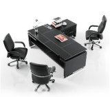 Leather Furnishing Office Desk (HY-15)