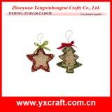 Christmas Decoration (ZY16Y136-2-3 24CM) Christmas Star Xmas Tree Decoration