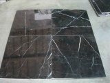 Black Nero Marquina Marble Tiles for Floor and Wall