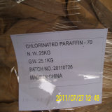 Chlronated Paraffin-70 for Flame Retardant Rubber in Sale