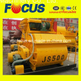 Js500 500L Twin Shaft Concrete Mixer
