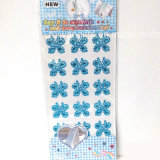 Butterfly Acrylic Crystal Diamond Stickers (sti078)