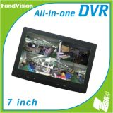 7inch Touch Screen, 4CH H. 264 DVR Combo
